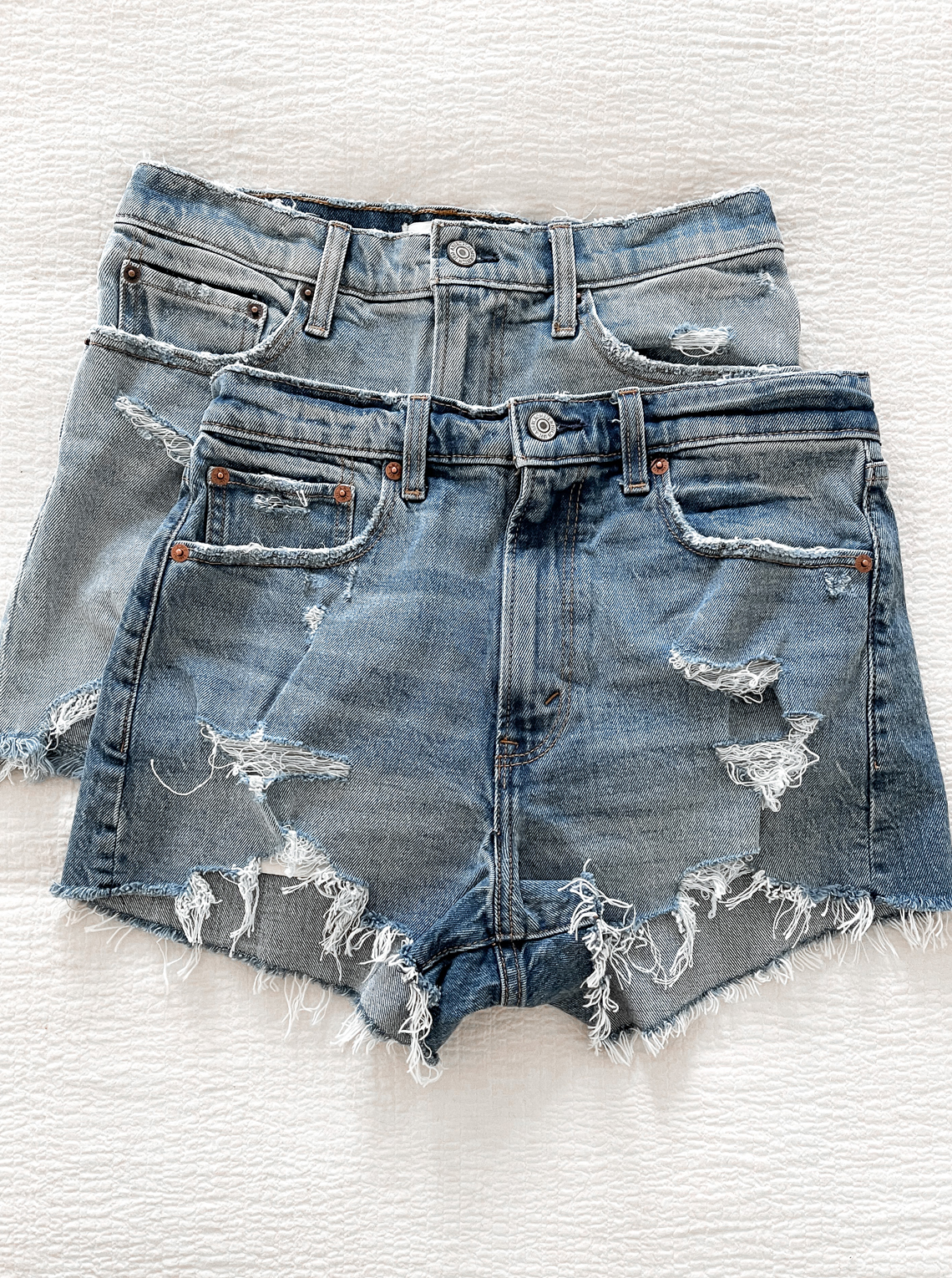 Fashion Jackson Abercrombie Denim Shorts