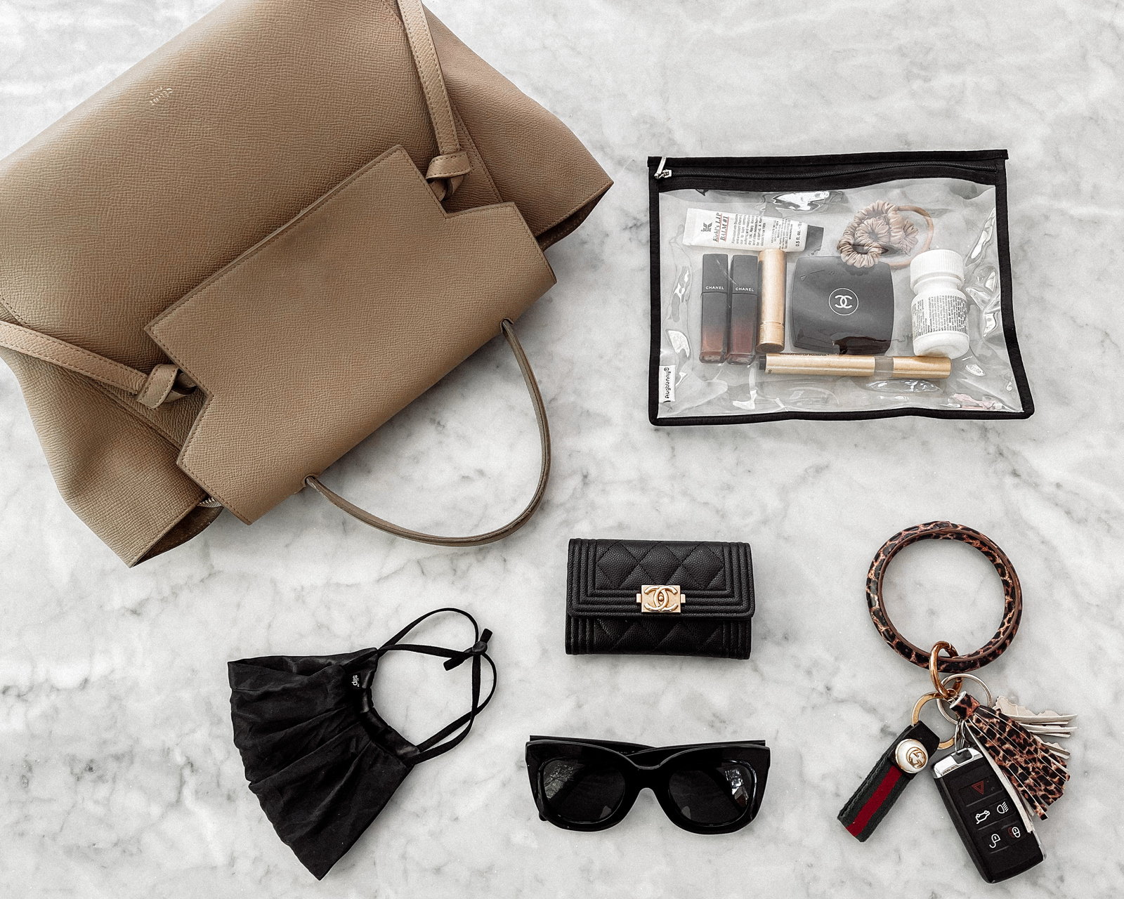 Fashion Jackson Whats In My Bag Celine Belt Bag Chanel Wallet Celine Sunglasses 2