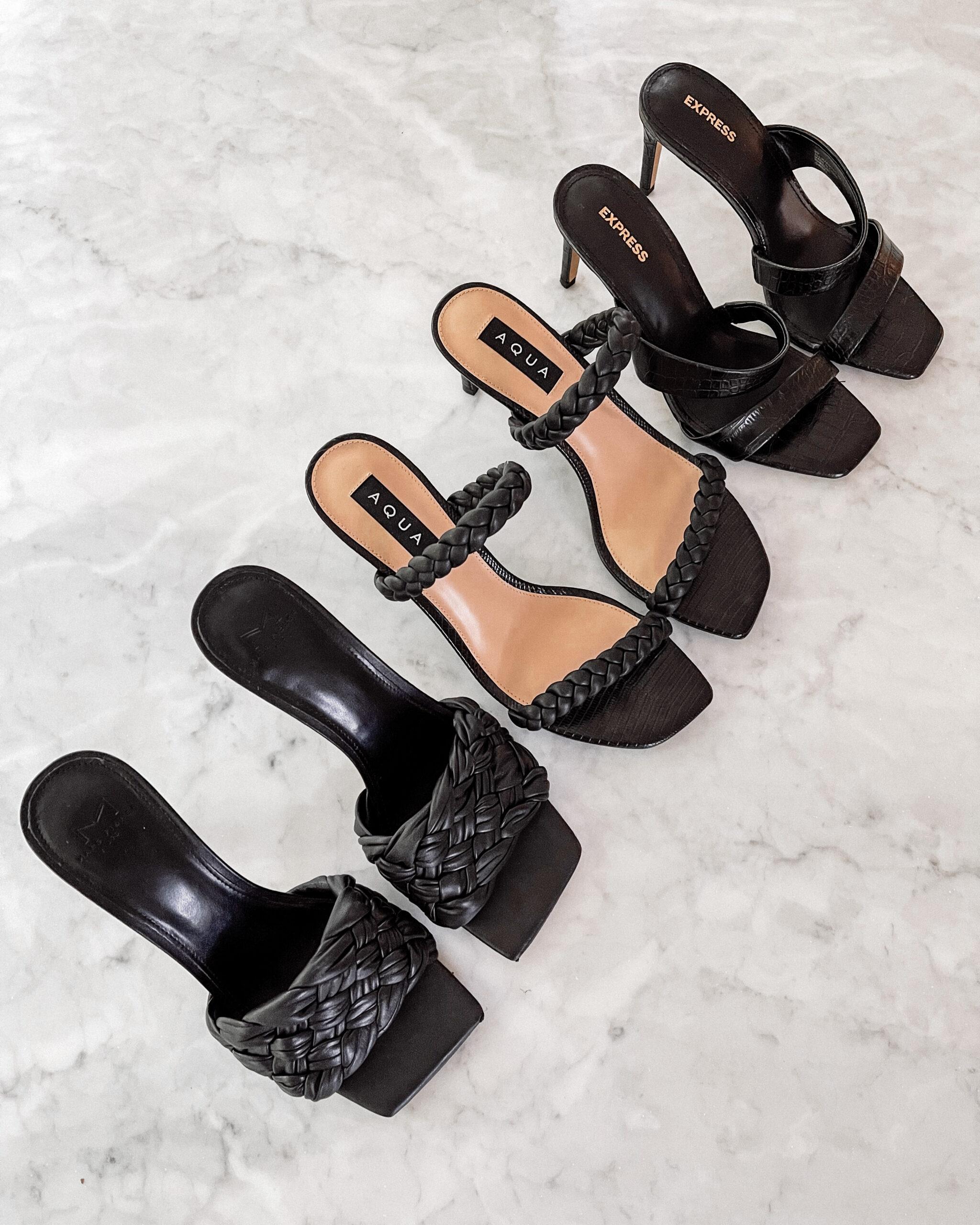 Fashion Jackson dressy summer sandals strappy summer sandal black summer sandals