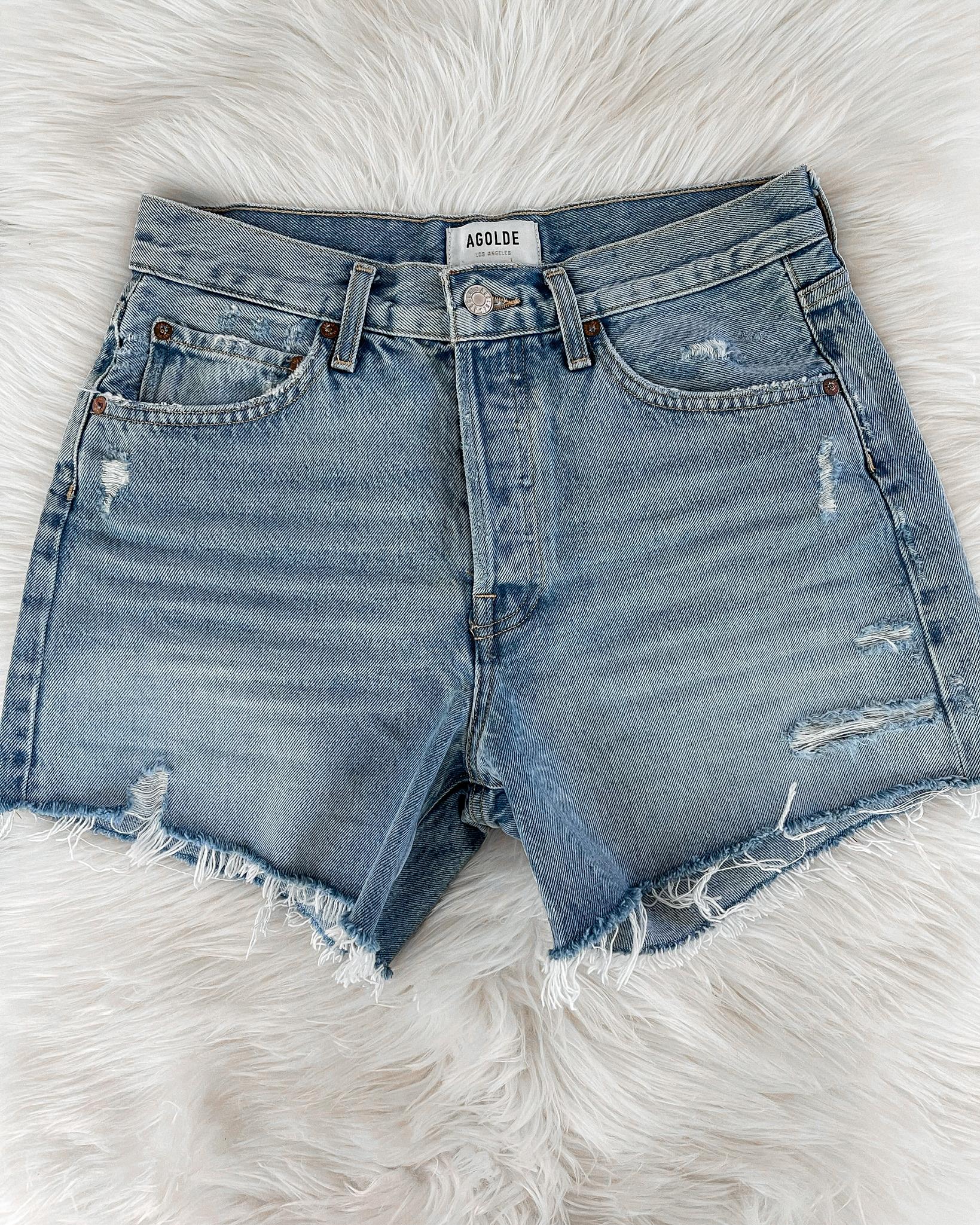 Fashion Jackson AGOLDE Parker Long Shorts