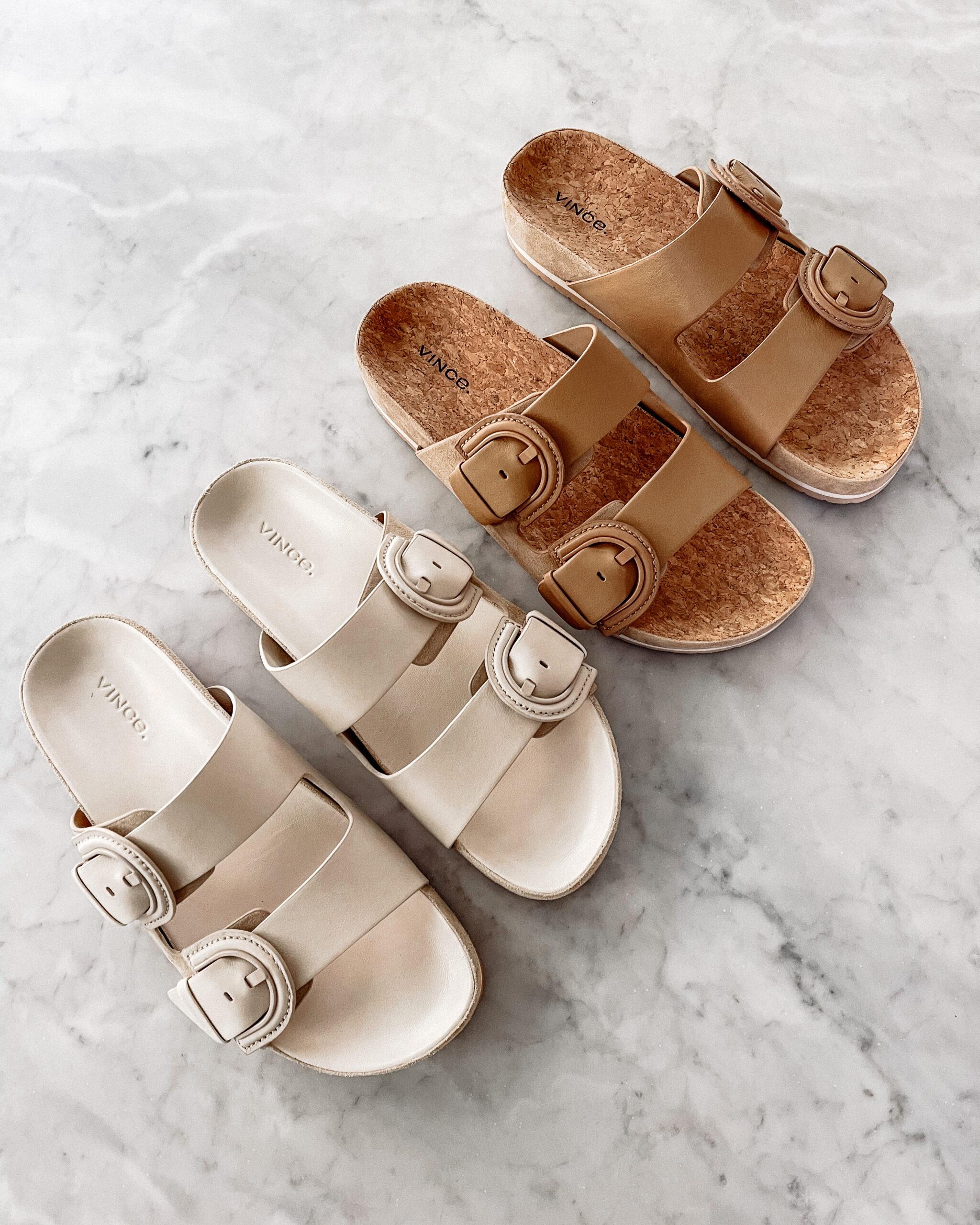 Fashion Jackson Vince Glyn Slide Sandals