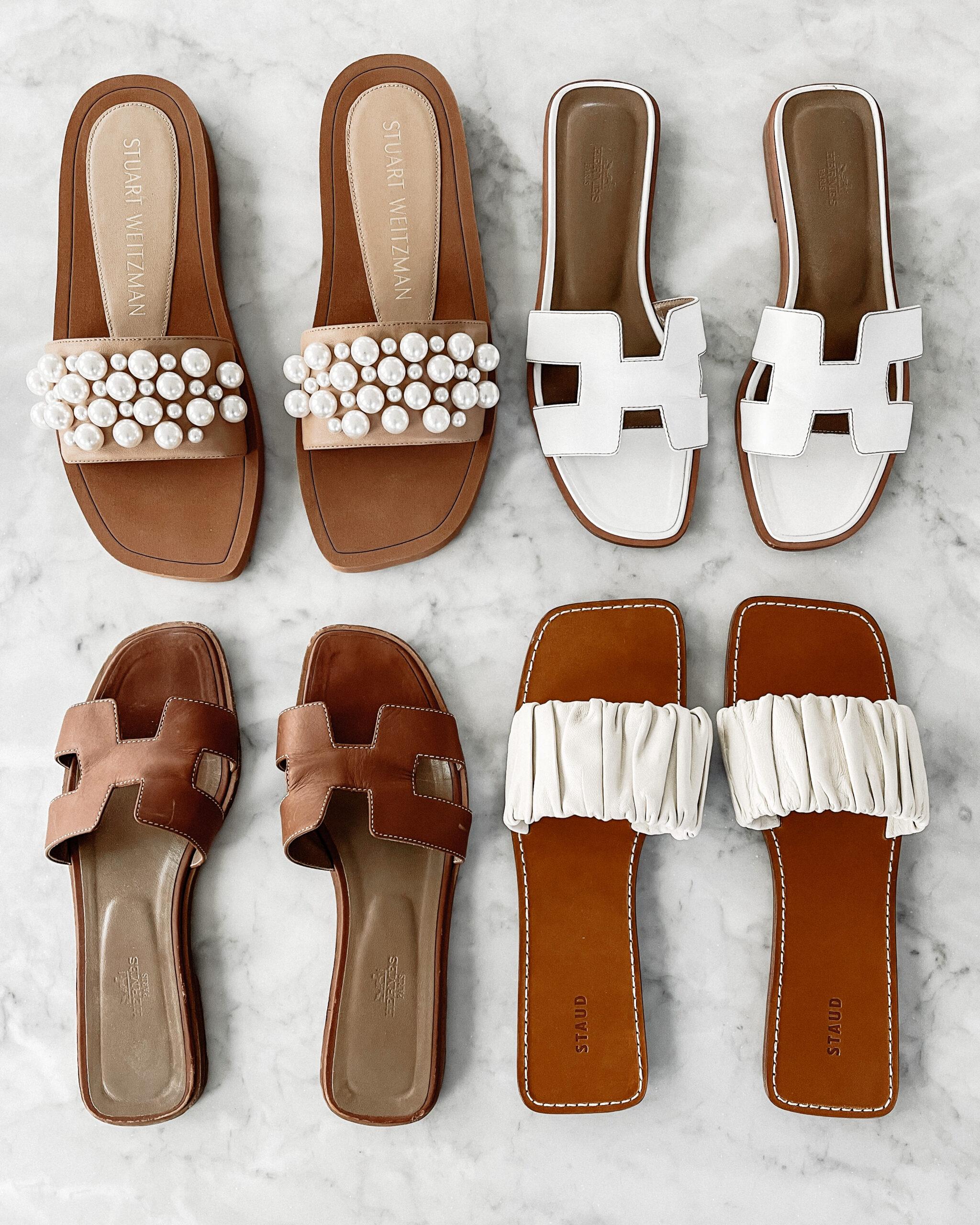 Fashion Jackson Casual Flat Sandals Hermes Oran Sandals