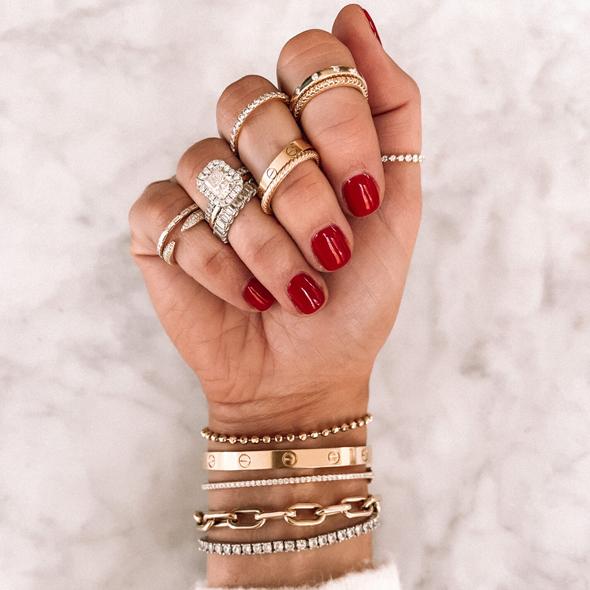 Fashion Jackson Jewelry Stack Ring Concierge
