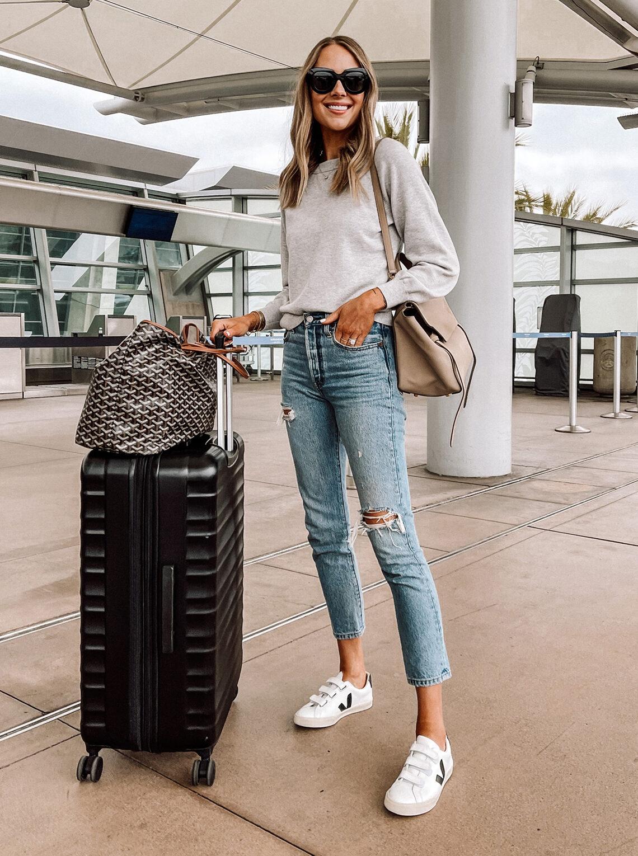 Fashion Jackson Travel Outfit Amazon Luggage