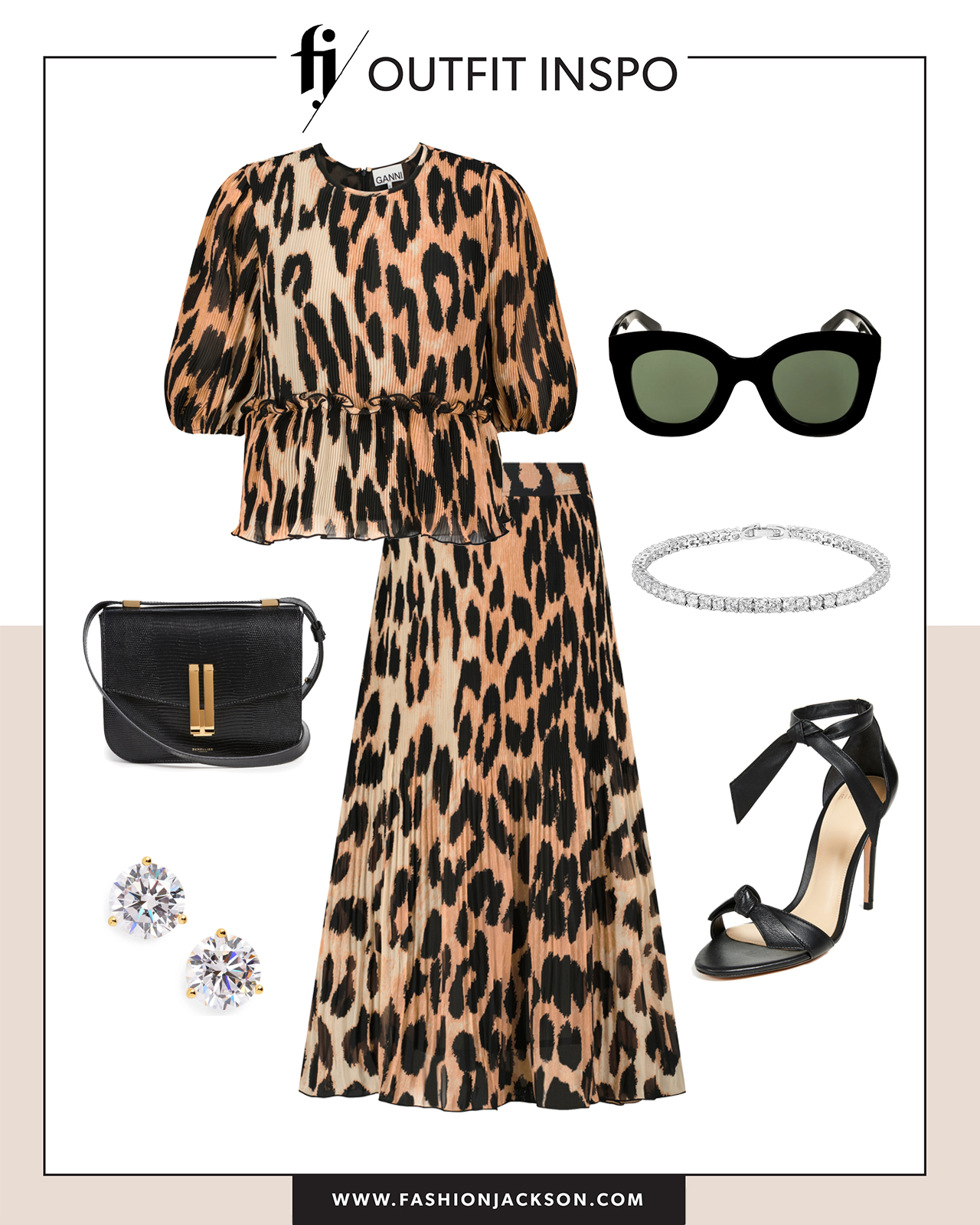 leopard top outfit inspo