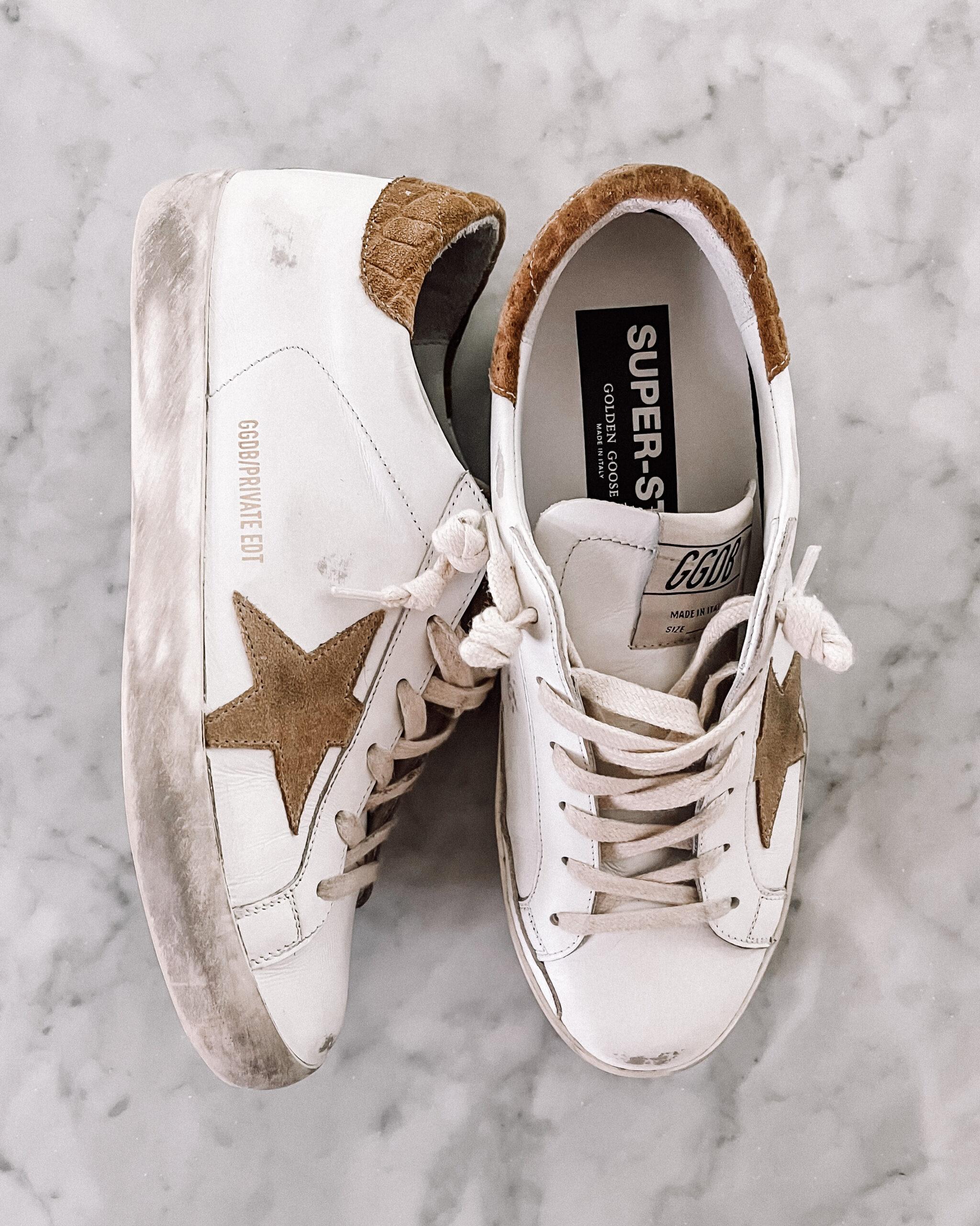 Fashion Jackson Golden Goose Superstar Sneakers