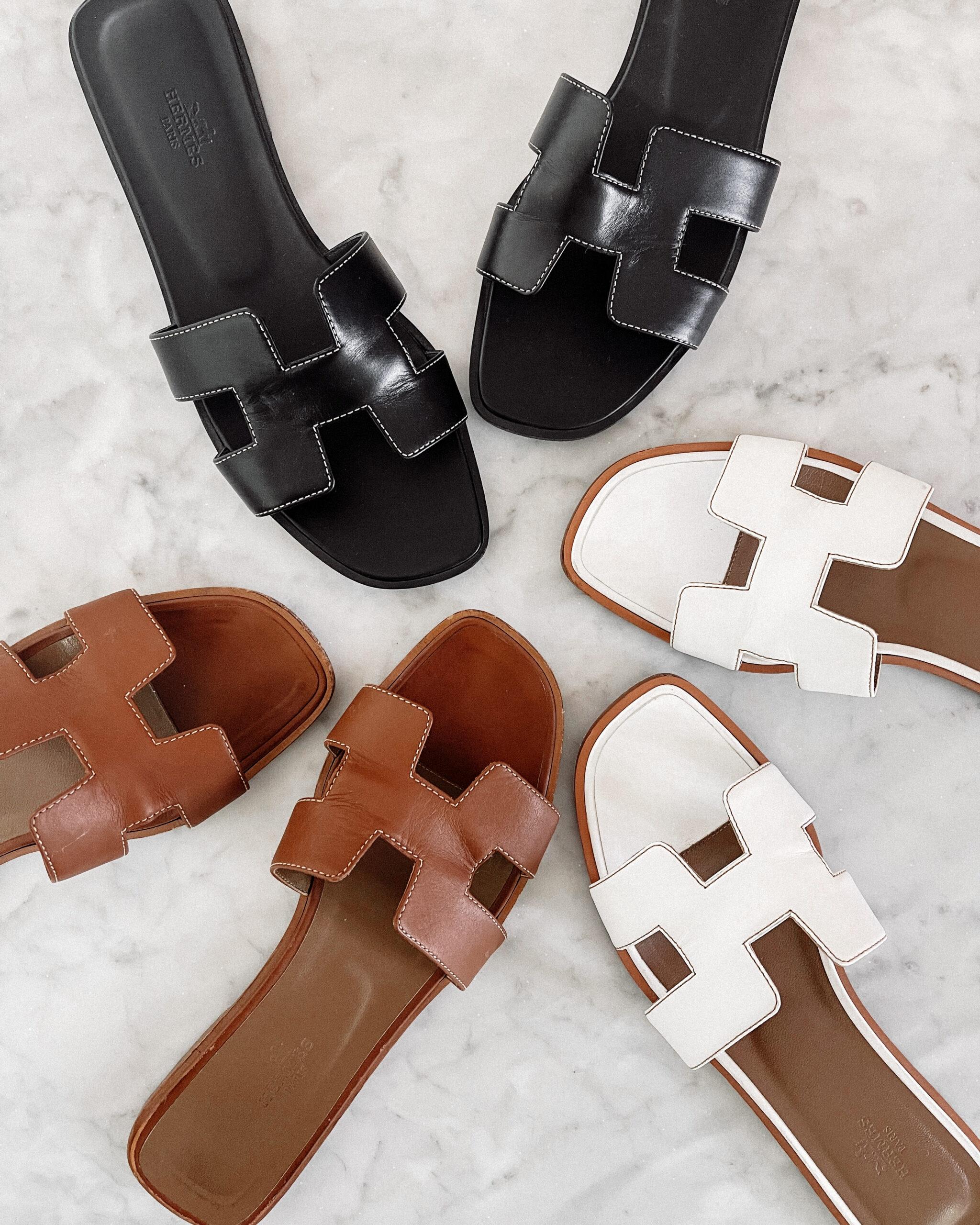 Fashion Jackson Hermes Oran Sandals