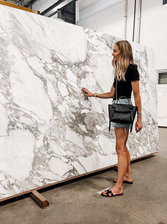 Fashion Jackson Home Design Arabascato Marble
