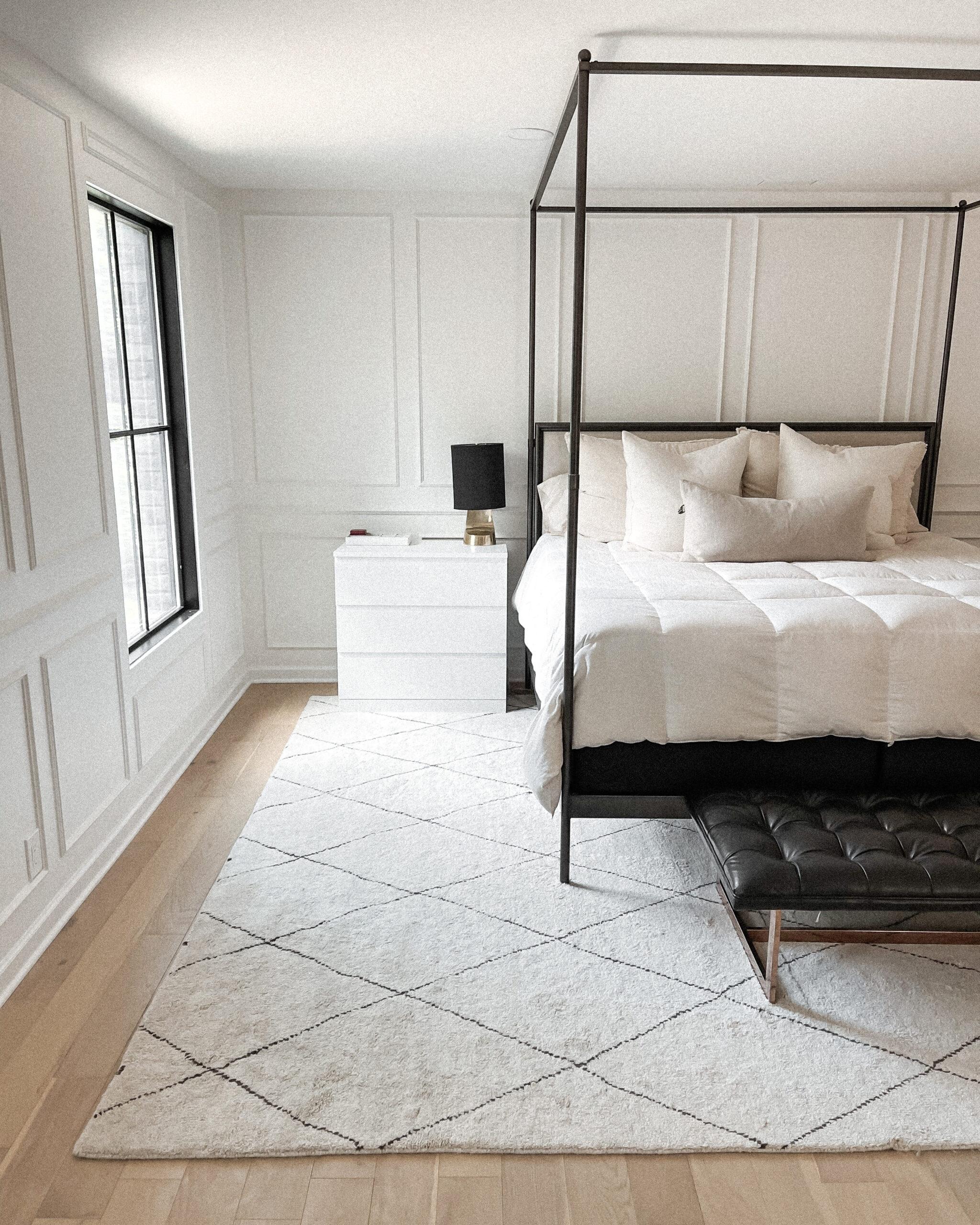 Fashion Jackson Restoration Hardware Bed Annie Selke Rug Master Bedroom Decor
