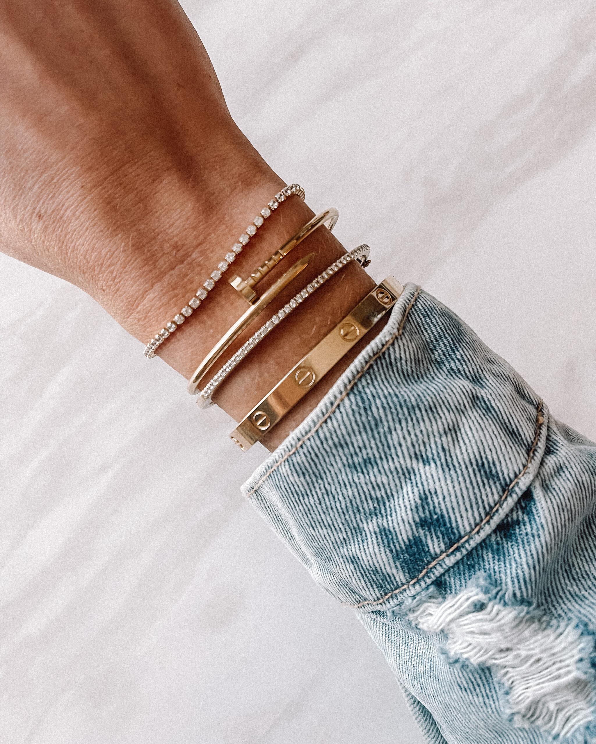 Fashion Jackson Gold Bracelets Amazon Tennis Bracelet Cartier Love Bracelet