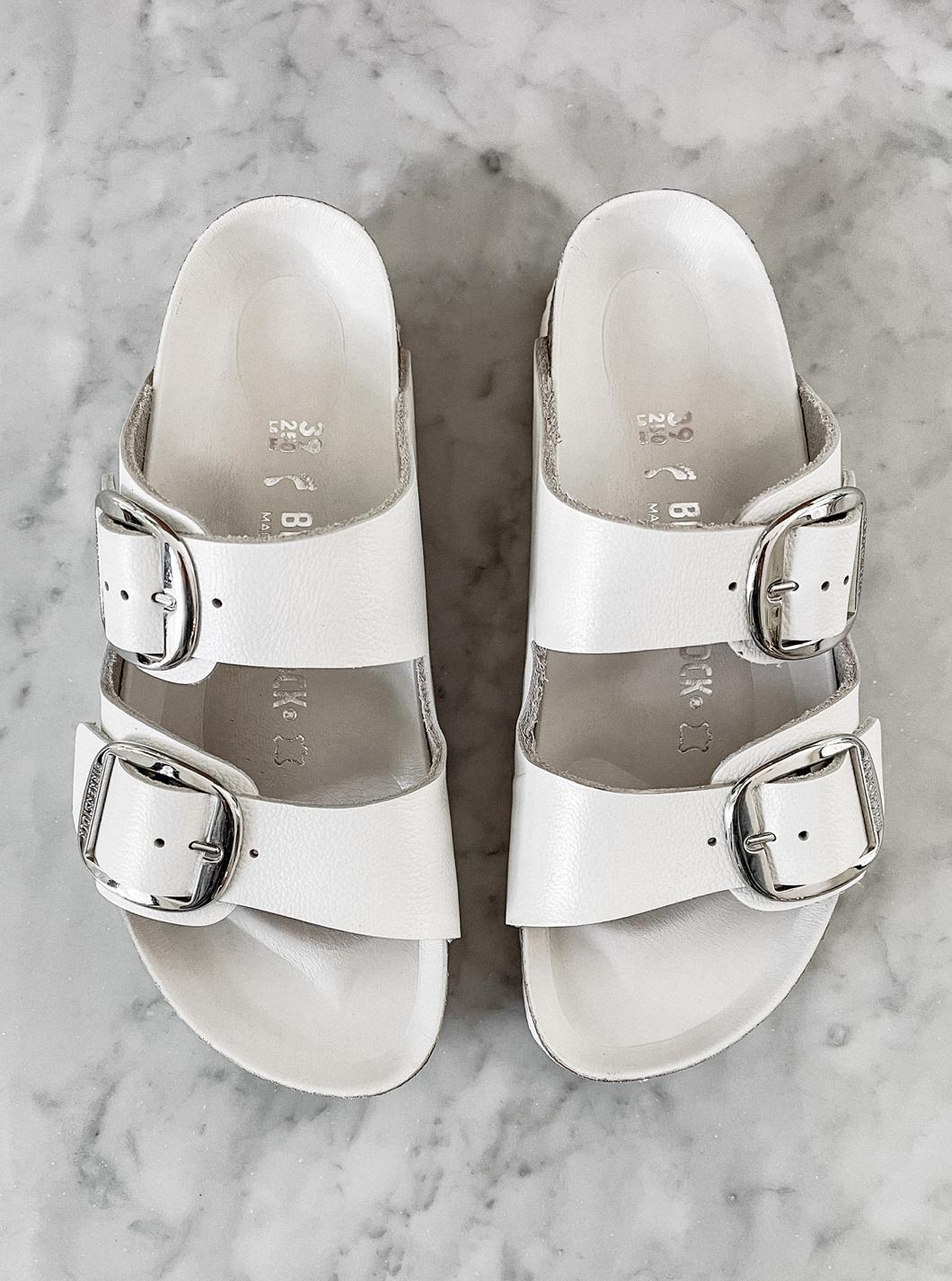 White Birkenstocks Shopbop