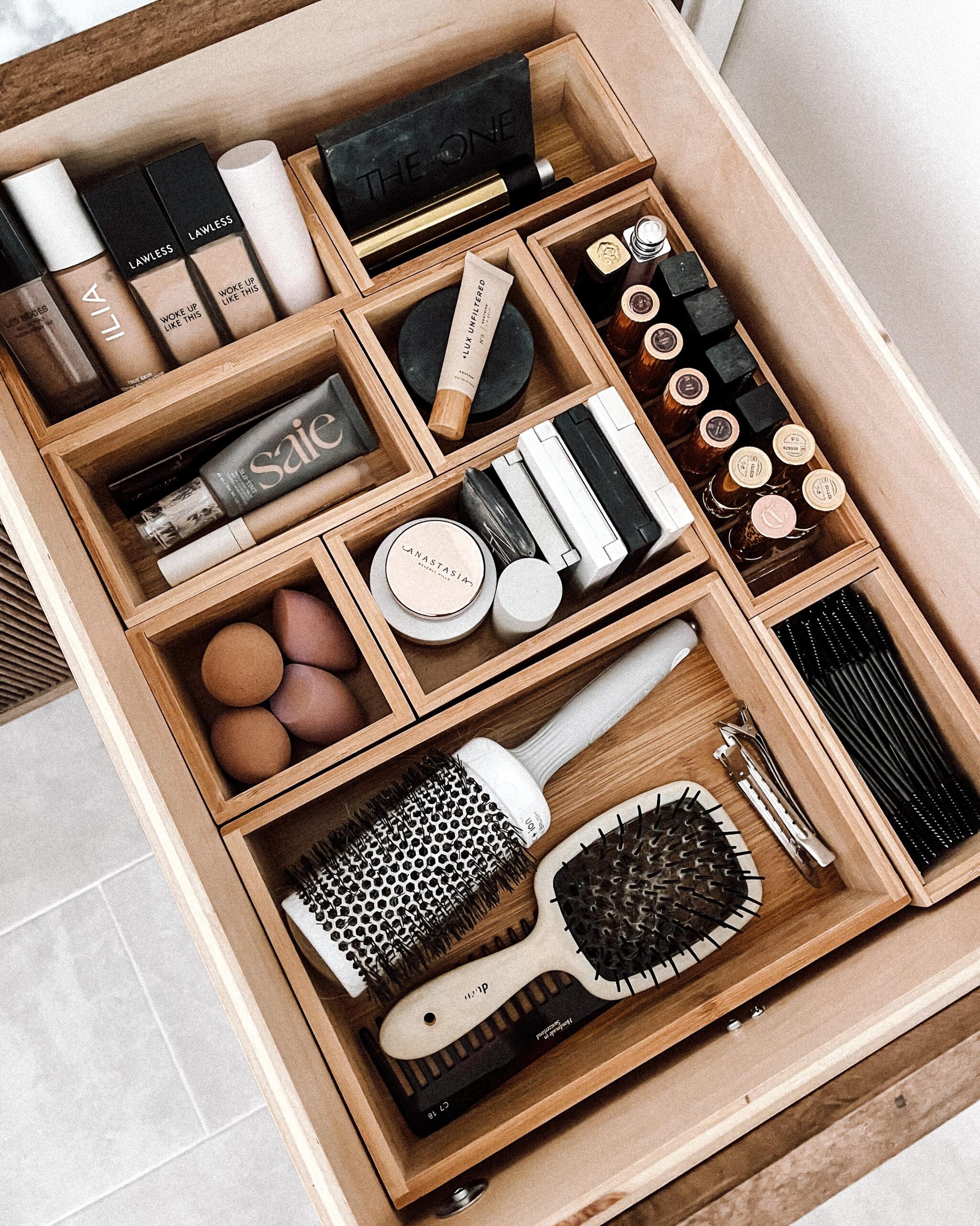 Fashion Jackson Bathroom Drawer Organizers for Makeup