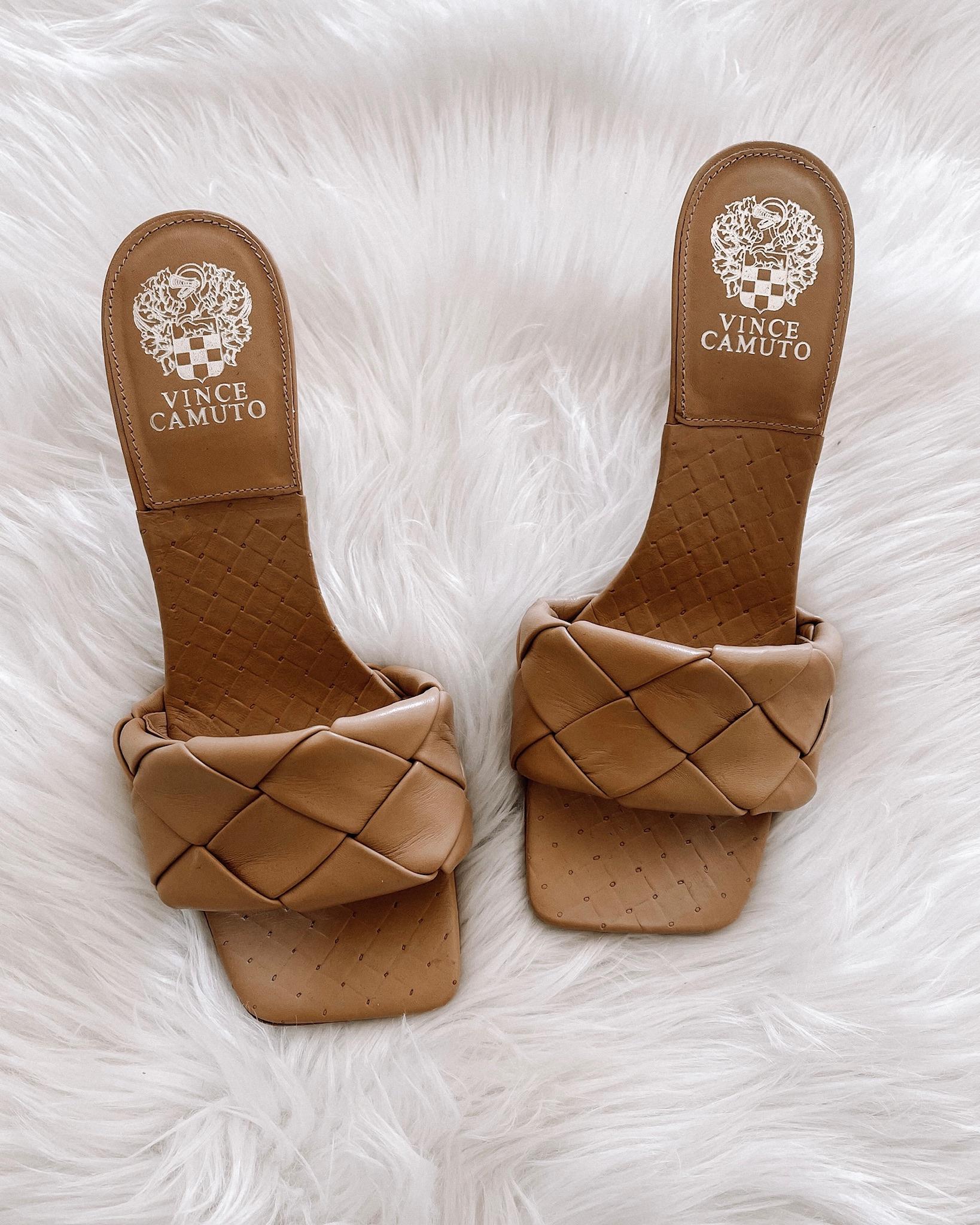Fashion Jackson Vince Camuto Brelanie Sandals Dolce De Leche