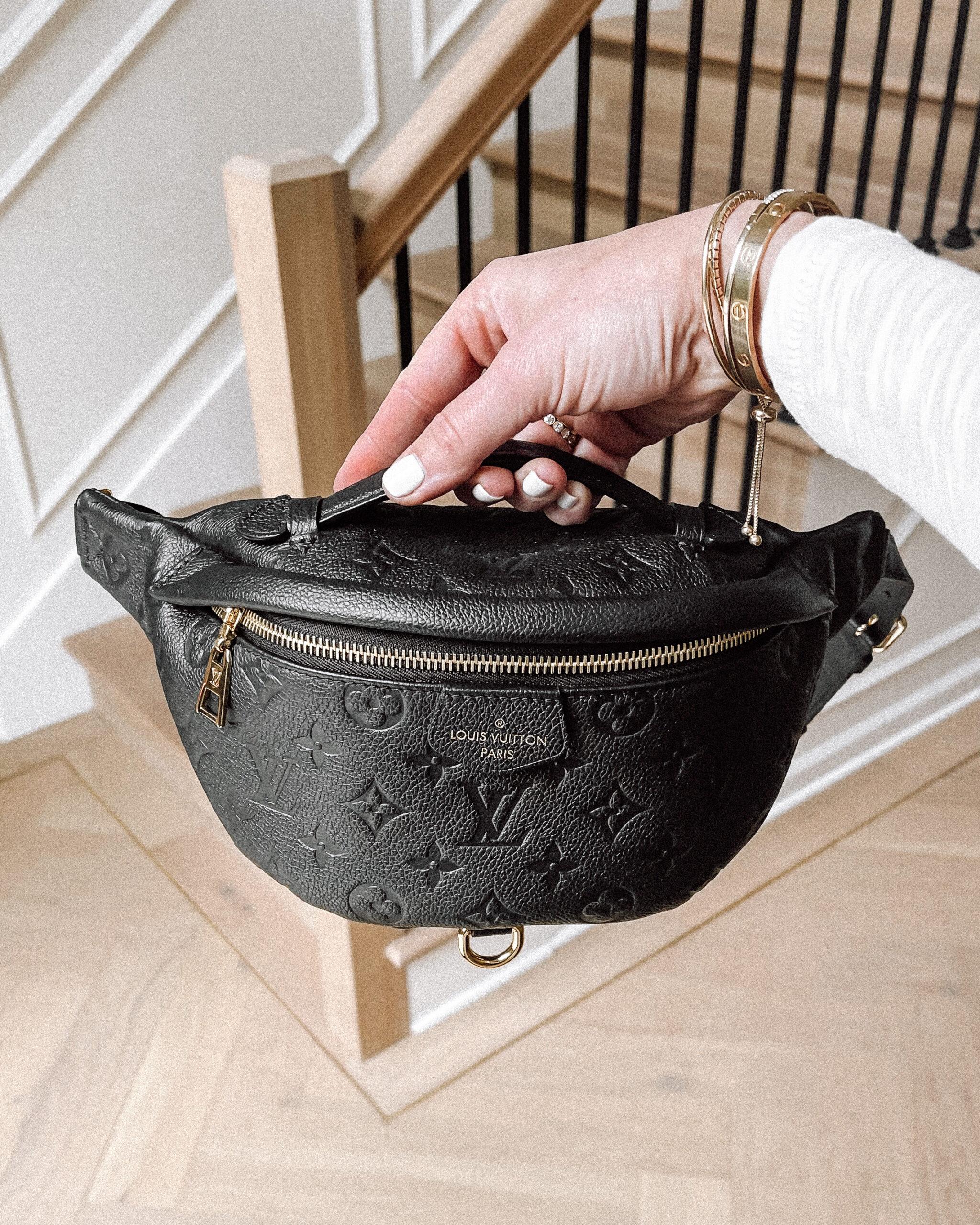 Fashion Jackson Louis Vuitton Empreinte BumBag Black Fashionphile