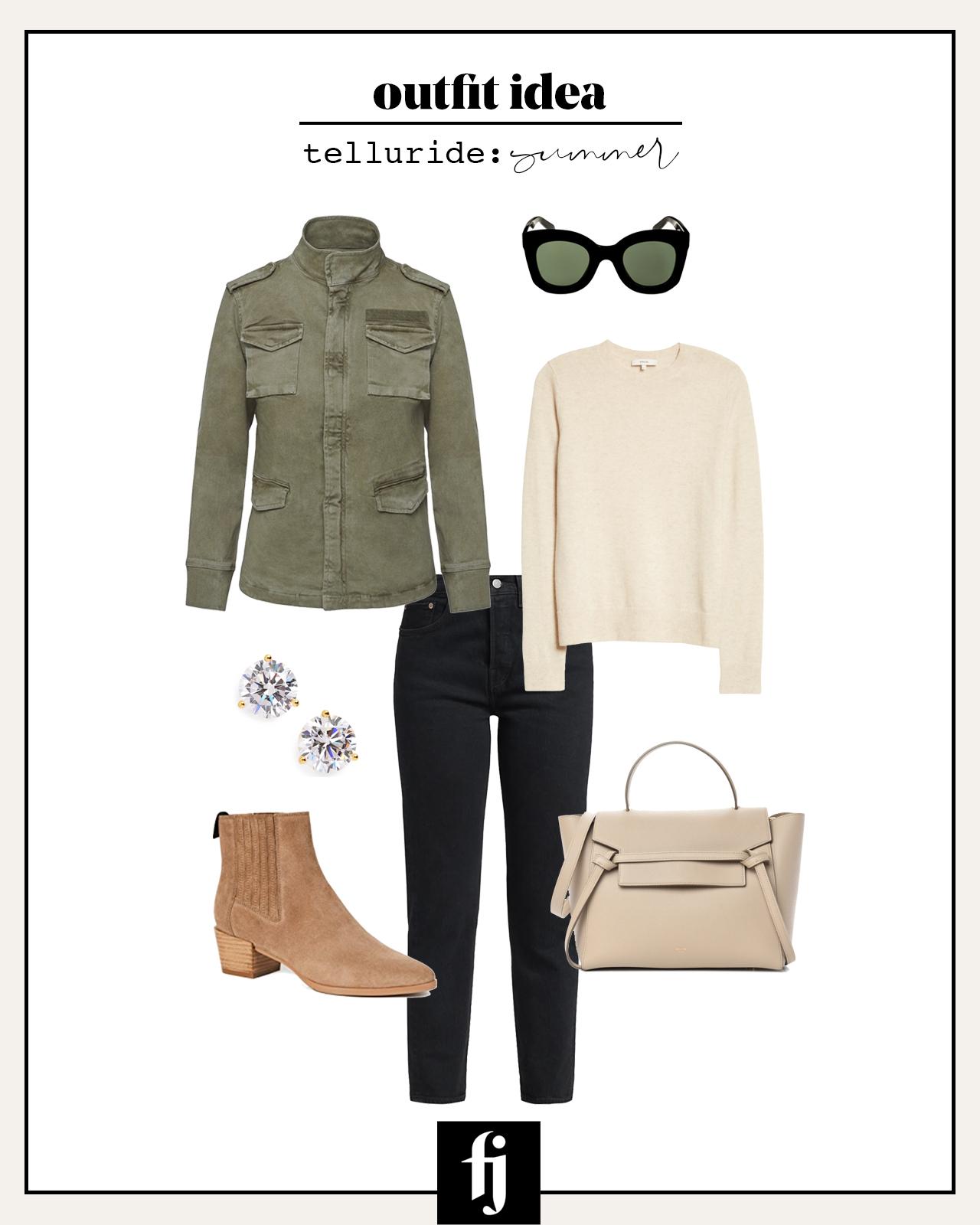 telluride summer outfit idea 1