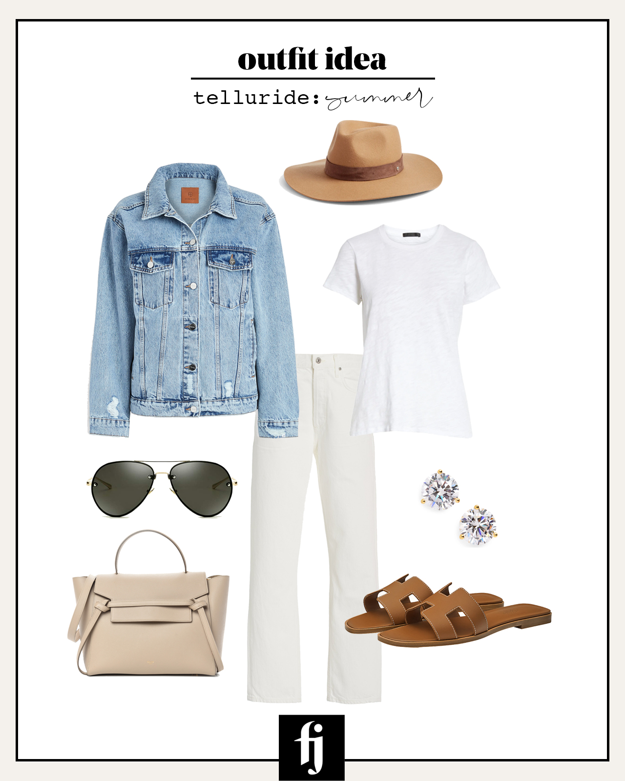 telluride summer outfit idea 2