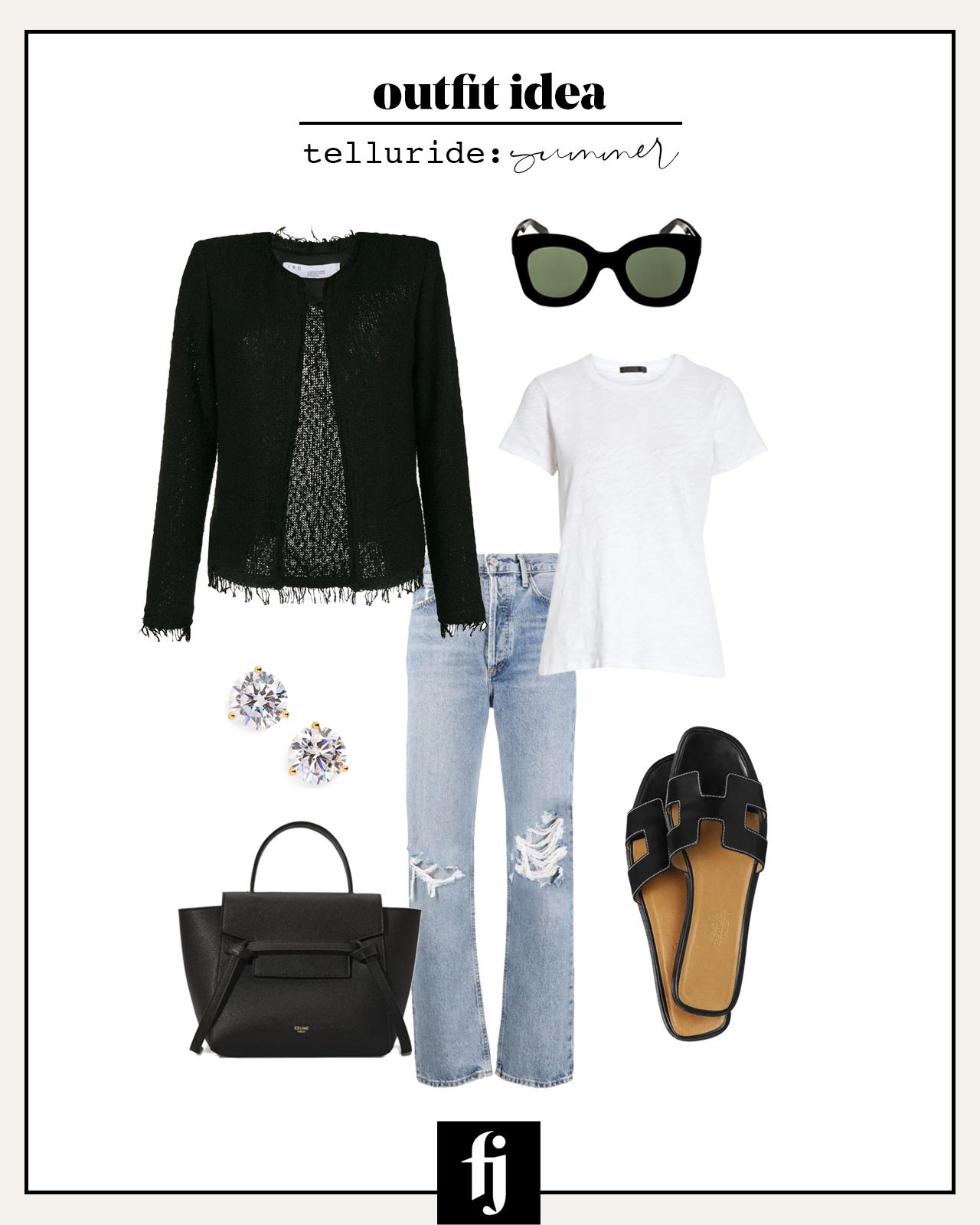 telluride summer outfit idea 4