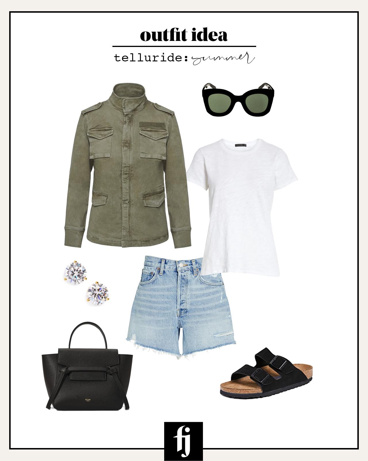 telluride summer outfit idea