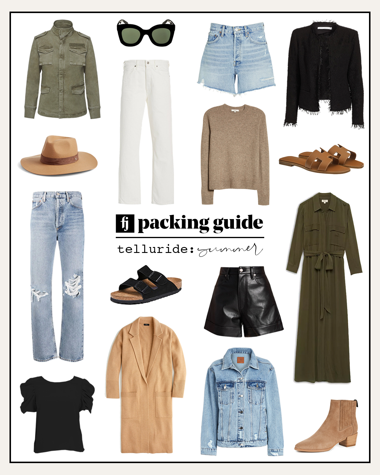 telluride summer packing guide
