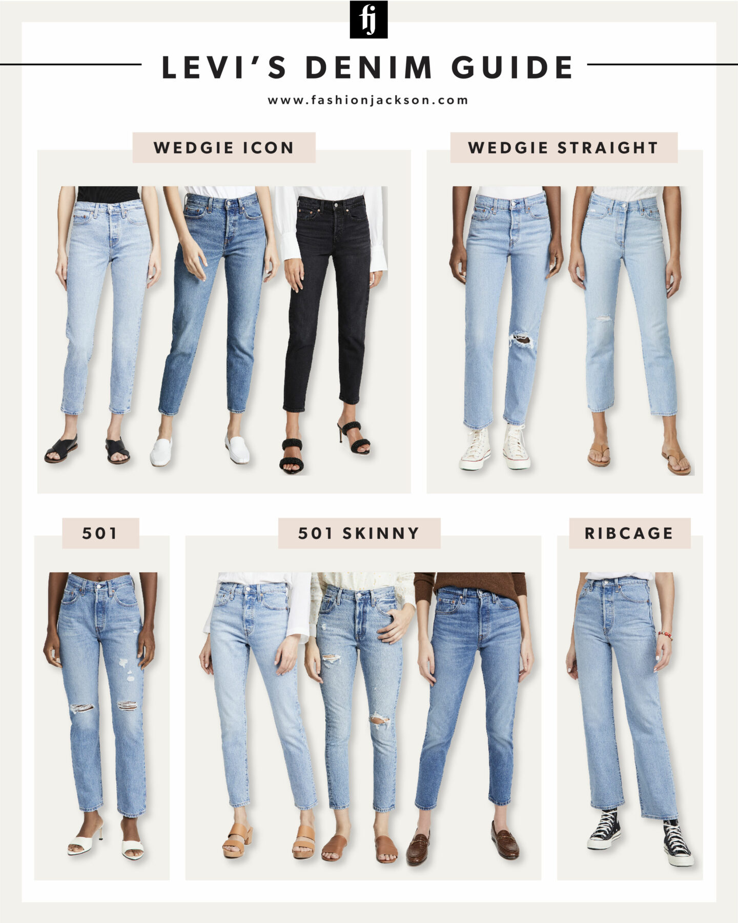 Levis Jeans Guide