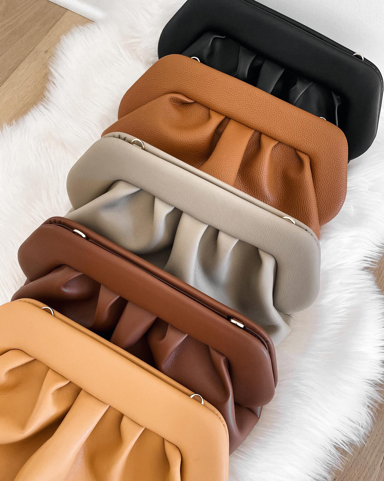 Fashion Jackson Themoire Clutch Bags bottega veneta pouch dupe