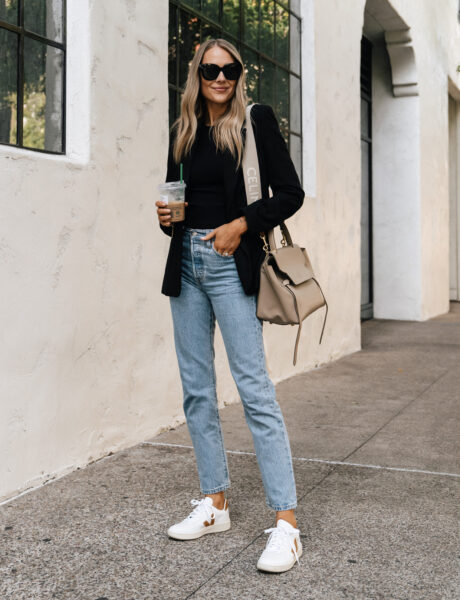 A Casual Fall Outfit With My Favorite Black Blazer