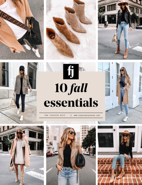 The Top 10 Fall Clothing Essentials All Women Need